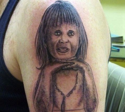 Another bad portrait tattoo!