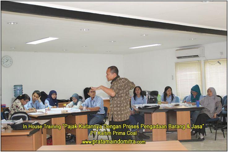 Pelatihan pajak dalam bentuk in-house untuk PT KPC