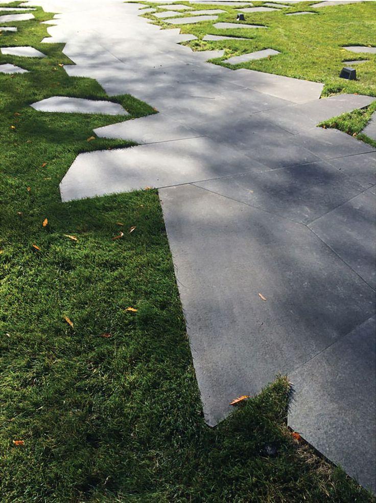 2017 ASLA 居住设计荣誉奖: 抽象形态的住宅景观,纽约 / HOLLANDERdesign Landscape Architects - 谷德设计网