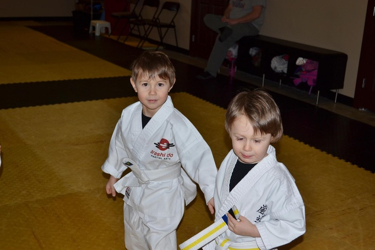 Little Dragons Karate, 4-6 years old.