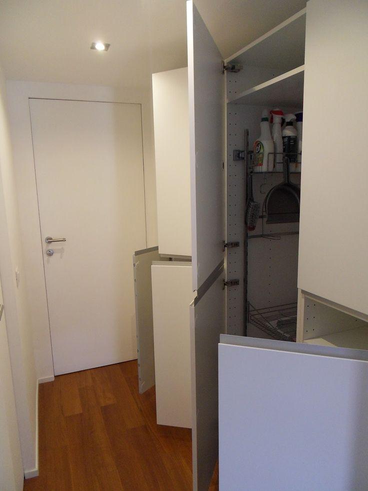 Oltre 25 fantastiche idee su armadi lavanderia su - Armadi piccoli ikea ...