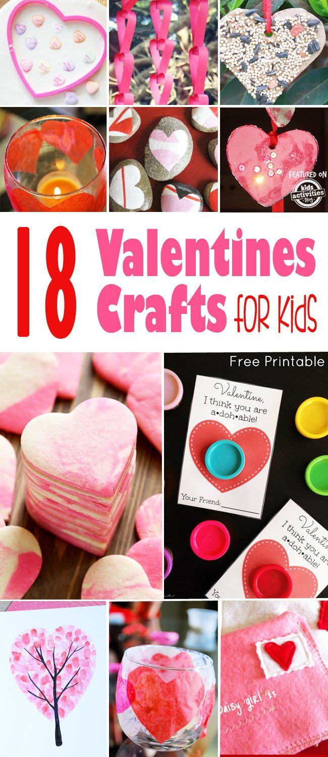 18 Valentines Crafts For Kids Valentine S Day Activities For Kids