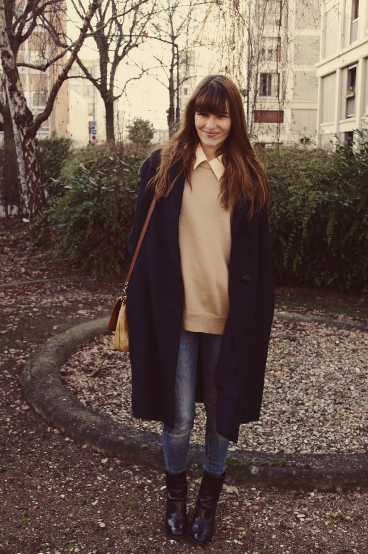 : Vintage Wardrobe, Long Coats, Vintage Bags, Fashionoutfit Www2Dayslookcom, Alex2578923 Fashionoutfit, Cute Winter Outfit, Boots, White Collar, Outfit Alex2578923