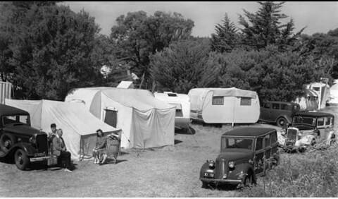 Sorrento, 1940s.