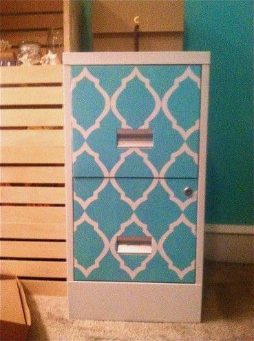 my DIY Filing Cabinet Makeover