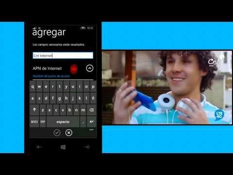 Configuración APN para equipos Windows Phone - YouTube