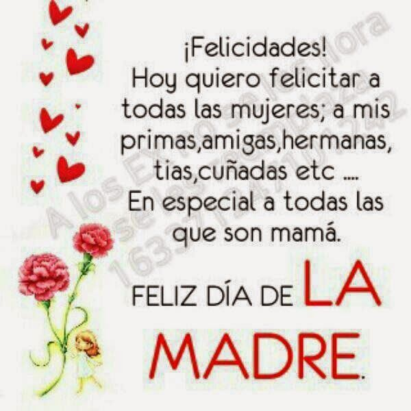 Spanish Happy Mothers Day 2016 Quotes From Daughter Son 6 Happy Mother Day Quotes Mothers Day Quotes Happy Mothers Day Images