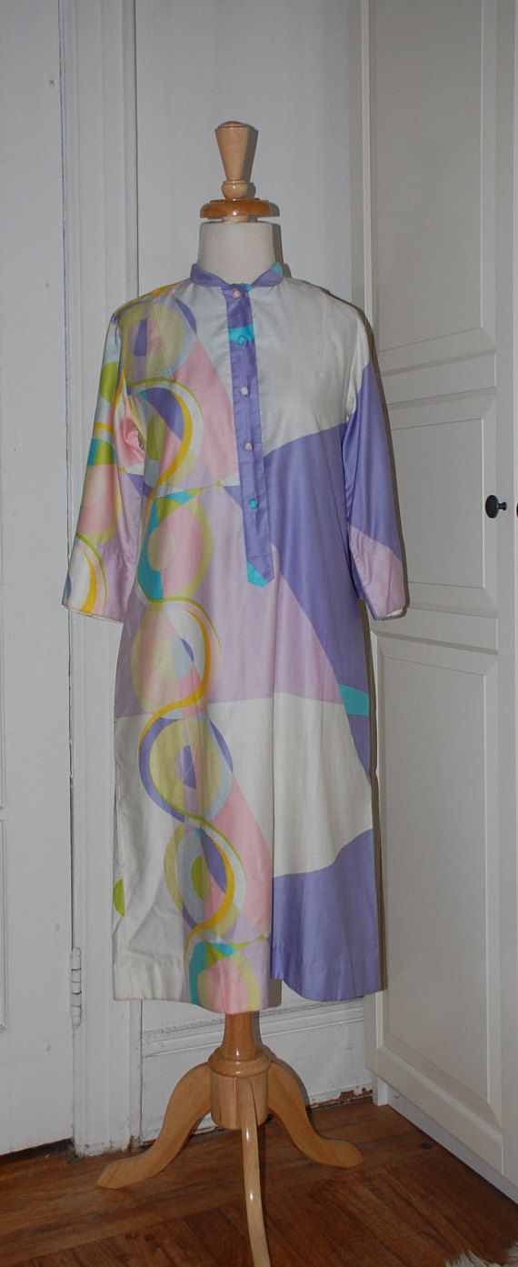 60s Dress Ogust Mod Shift Penthouse Gallery Polished