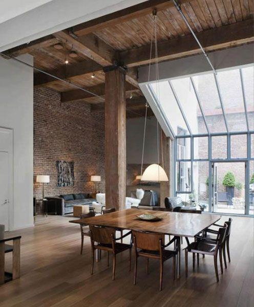 en los lofts tan importante es el espacio como la libertad de movimiento