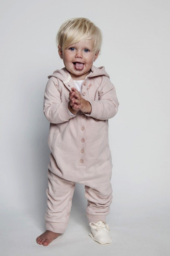Hooded Jumpsuit - baby - shop | Gray Label