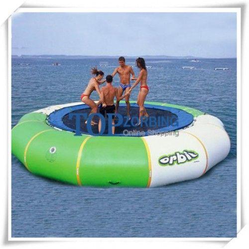 17 mejores ideas sobre trampol n de agua en pinterest for Trampolines para piscinas