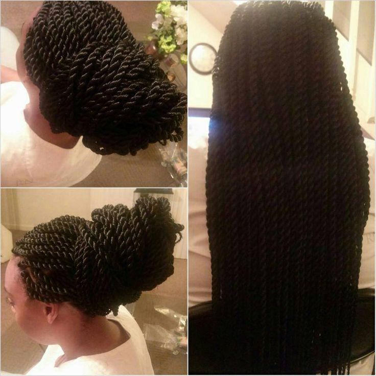 rope twists hairstyles : Rope Twist Hairstyles Pinterest