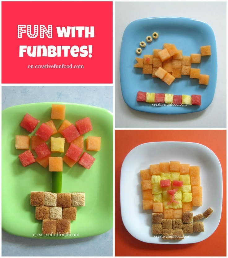 Having Fun with FunBites! on creativefunfood.com