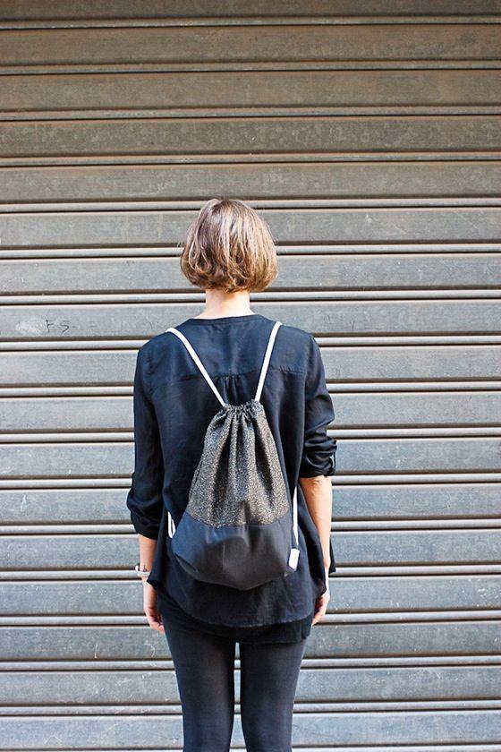 BICOLOR #1 up ---> gold lamè  down ---> black cotton 100%