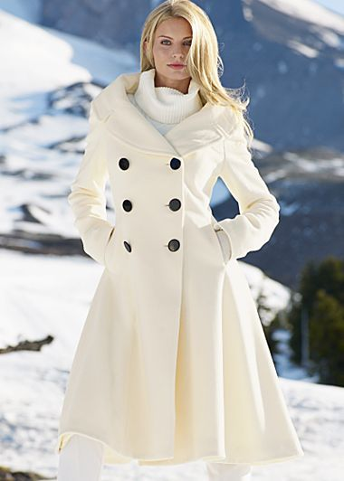 Best 20  White winter coat ideas on Pinterest | Coat for ladies ...