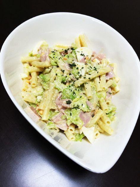 美味しい☆キャベツとハムのマカロニサラダ by テンテン☆ [クックパッド] 簡単おいしいみんなのレシピが228万品