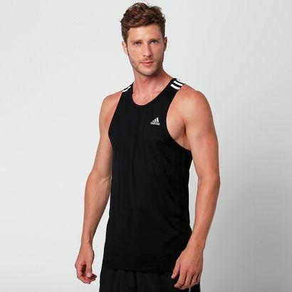 Seja nas pistas de corrida, ou em outros esportes, a Camiseta Regata Adidas 3S Preto vai te ajudar a potencializar os resultados, pois sua leveza e flexibilidade garantem movimentos mais dinâmicos.   Netshoes