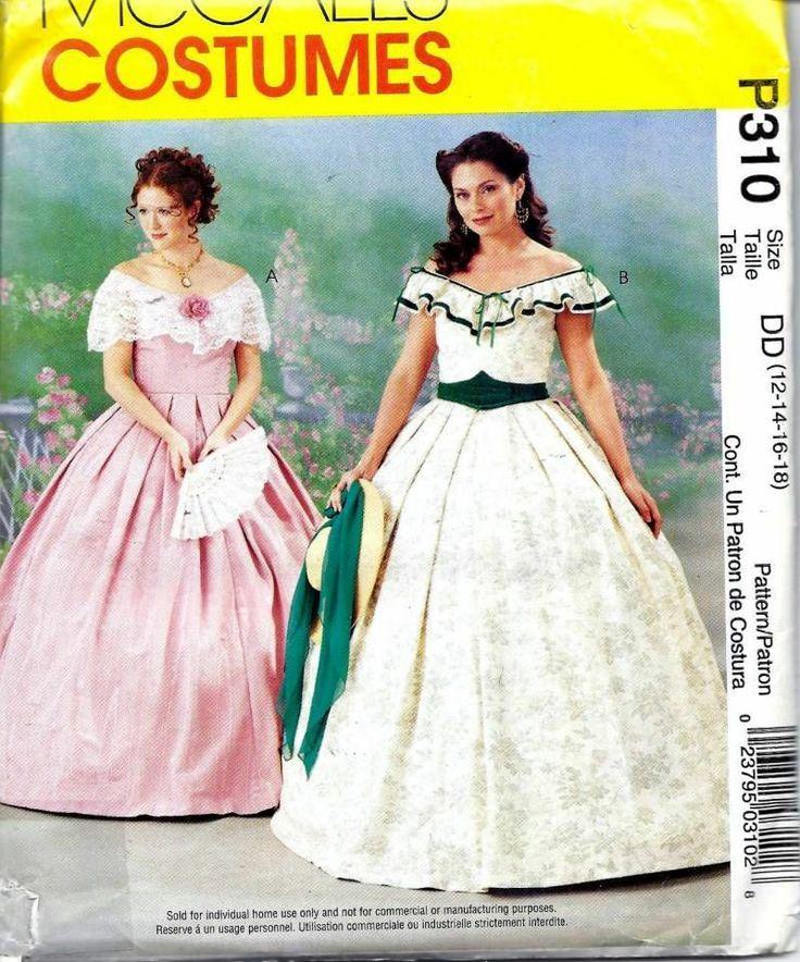 Renaissance Faire Wedding Dress Gown Costume History Mccalls: 1000+ Images About Costumes & Historical Reenactors
