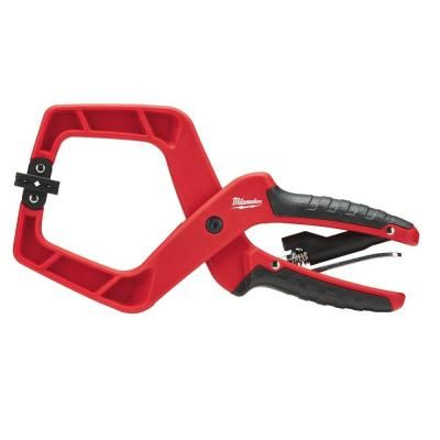 milwaukee 4 in plus stop lock hand clamp with durable grip milwaukee tools and xmas. Black Bedroom Furniture Sets. Home Design Ideas
