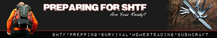 Preparing for shtf Knowledge is the key to survival when the shtf!