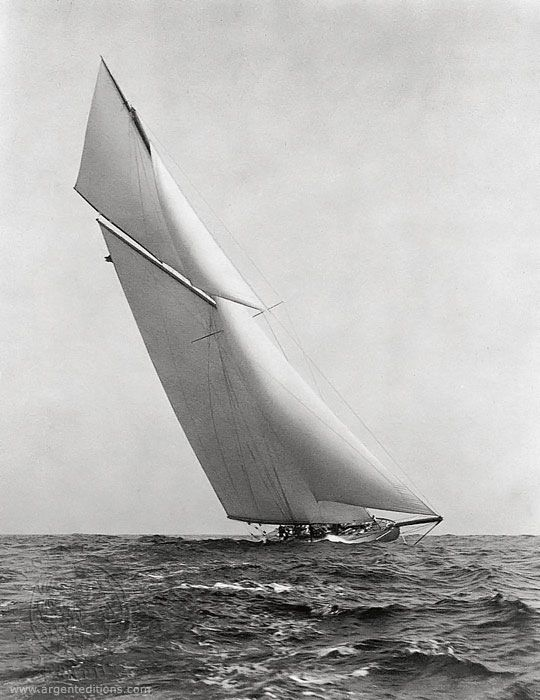 The beautiful behemoth Reliance handily defended the America's Cup in 1903, but she was such a freakish yacht the contest's rules on design were changed when the race was won.