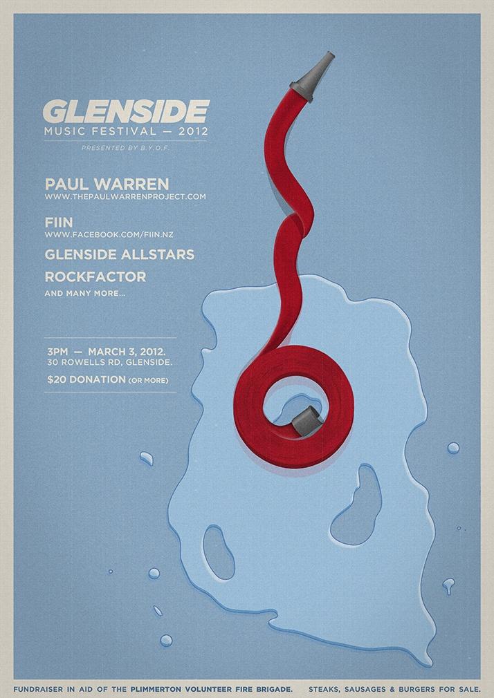 Glenside festival: Poster