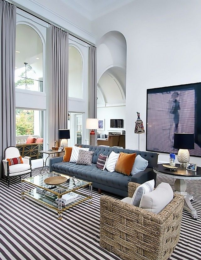 Exclusive Nate Berkus Shows Us Inside His Decadent Atlanta Makeover HomesNate BerkusClub ChairsSitting RoomsLiving Room