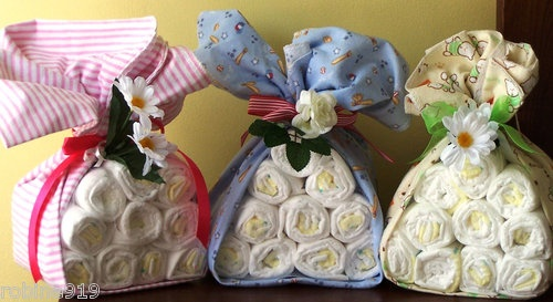 Stork Bundles Baby Diaper Gifts for Baby Showers  Boy, Girl, Neutral GenderShower Ideas, Gift Ideas, Stork Bundle, Diapers Gift, Baby Shower Boys, Neutral Gender, Baby Gift, Bundle Baby, Baby Diapers
