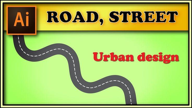 Road, street - Adobe Illustrator tutorial