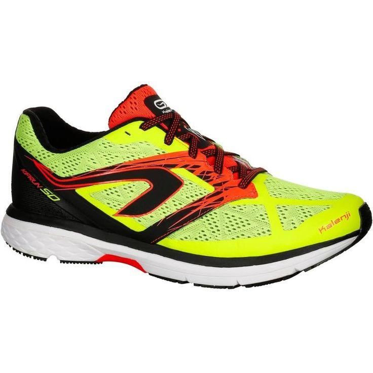 Chaussures de running homme kiprun sd jaune kalenji