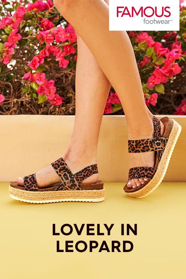 Leopard Espadrille Sandals in 2020