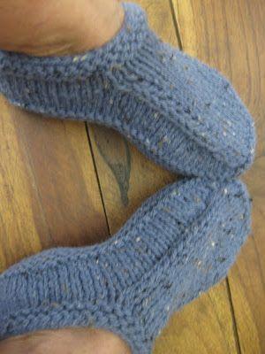 53 Best Slippers Images On Pinterest Knit Socks Knitting Patterns