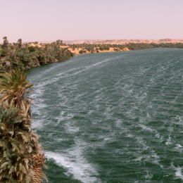 Lakes of Ounianga, Chad, Africa