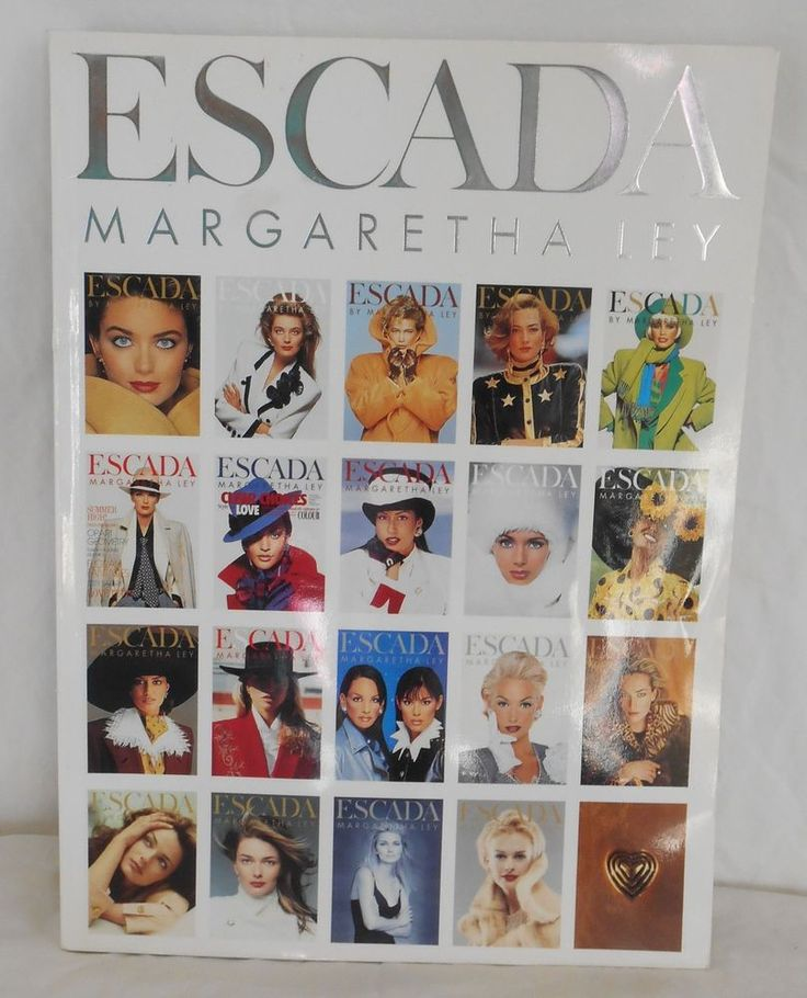 ESCADA Vintage Fashion SOLD!  Catalog Book Advertising  Marketing  Spring Summer 1999