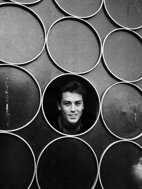 Alain Delon in New York, 1958. °