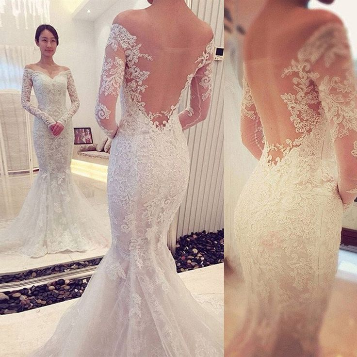 Wedding Dress Back Pinterest: 25+ Best Ideas About Sleeve Wedding Dresses On Pinterest