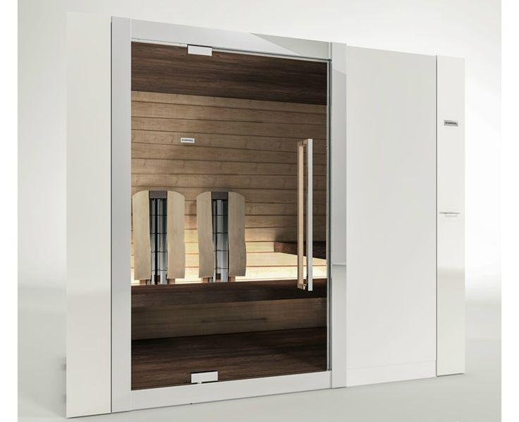 Sauna de infravermelho SWEET SAUNA 90 COMBI Coleção Home by STARPOOL | design Cristiano Mino