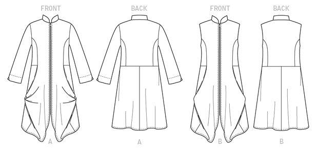 misses tunic vogue sewing patterns vogue patterns fashion