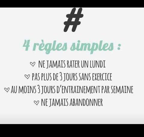 4 règles simples. Lotus et bouche cousue