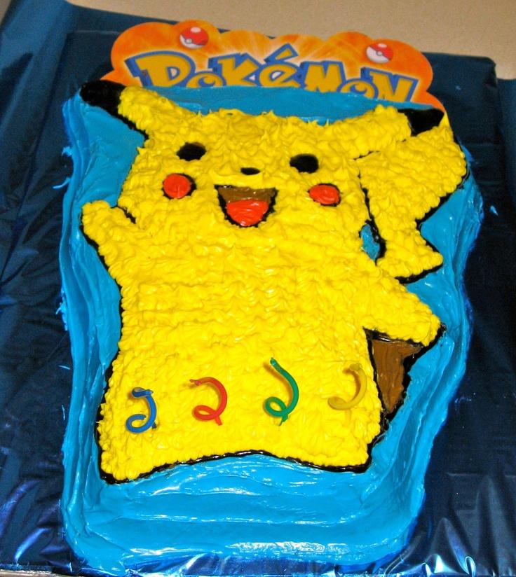 Pokemon Cake Pan Instructions