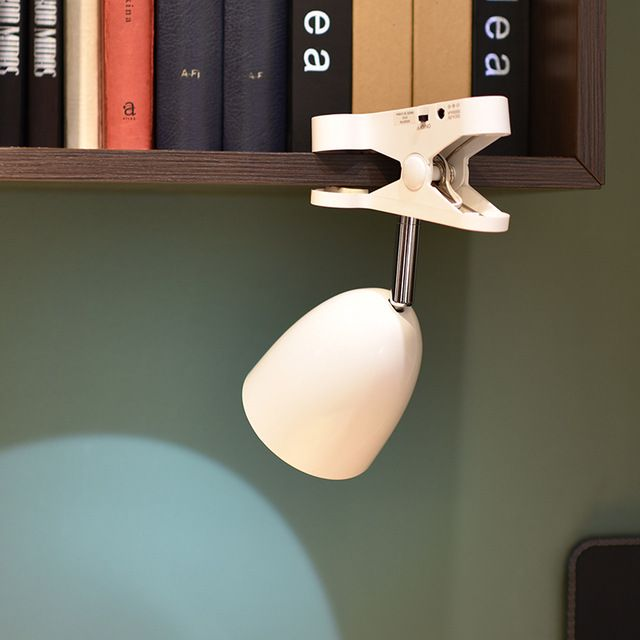 Лучший LED Клип Лампы на Батарейках/USB Зажим На Изголовье Кровати Стол Компьютерный Стол Книга Лампа Для Чтения в Помещении Аварийного свет