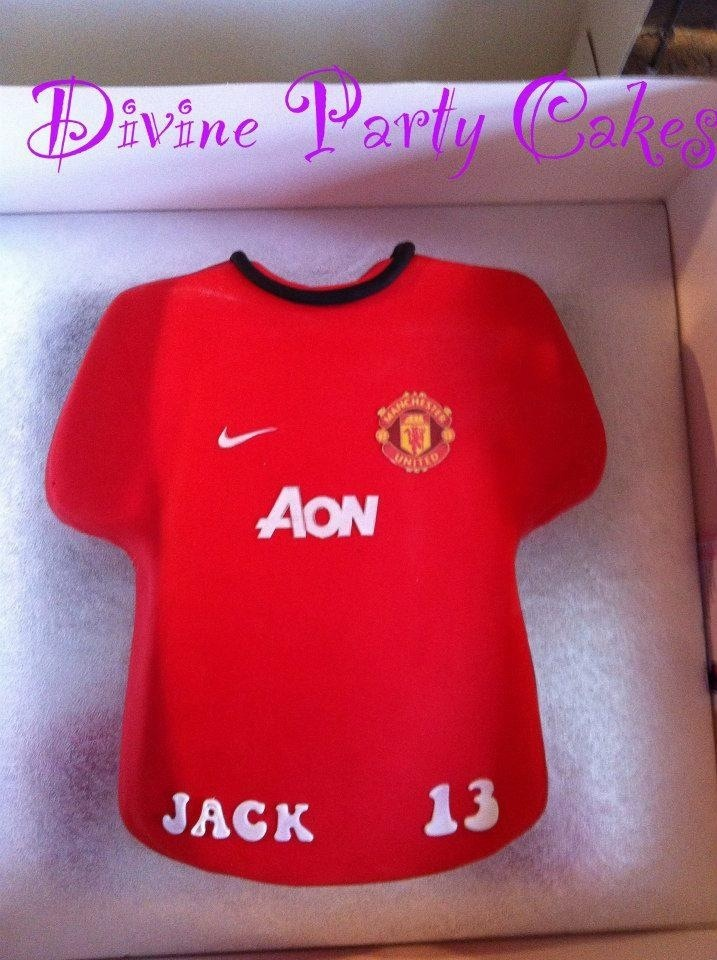 Cake Decorating Football Shirt : 17 Best images about Cakes by Divine Party Cakes on ...