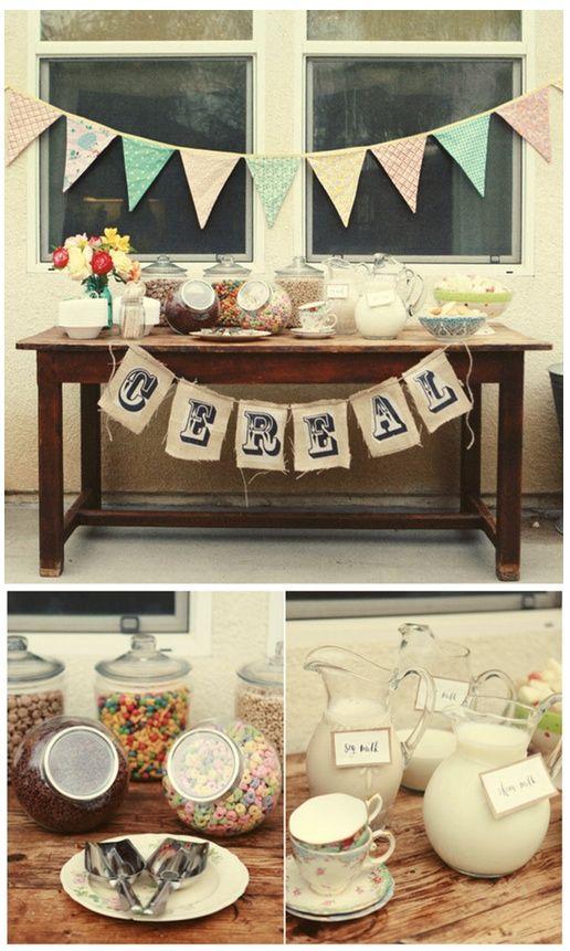 mesa de cereais