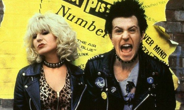 Our second movie is the 1986 punk classic, Sid & Nancy, featuring the extremely talented actor Gary Oldman in one of his first major movie roles as Sid Vicious! Also starring Chloe Webb as Vicious' junkie girlfriend, Nancy Spungen. You'll also see a young Courtney Love in this Alex Cox gem of a movie.