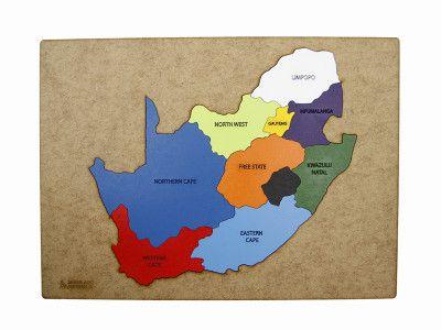 SA Map Puzzle