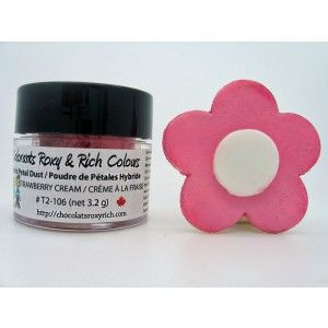 Chocolats Roxy & Rich Petal Dust - Strawberry Cream Golda's Kitchen