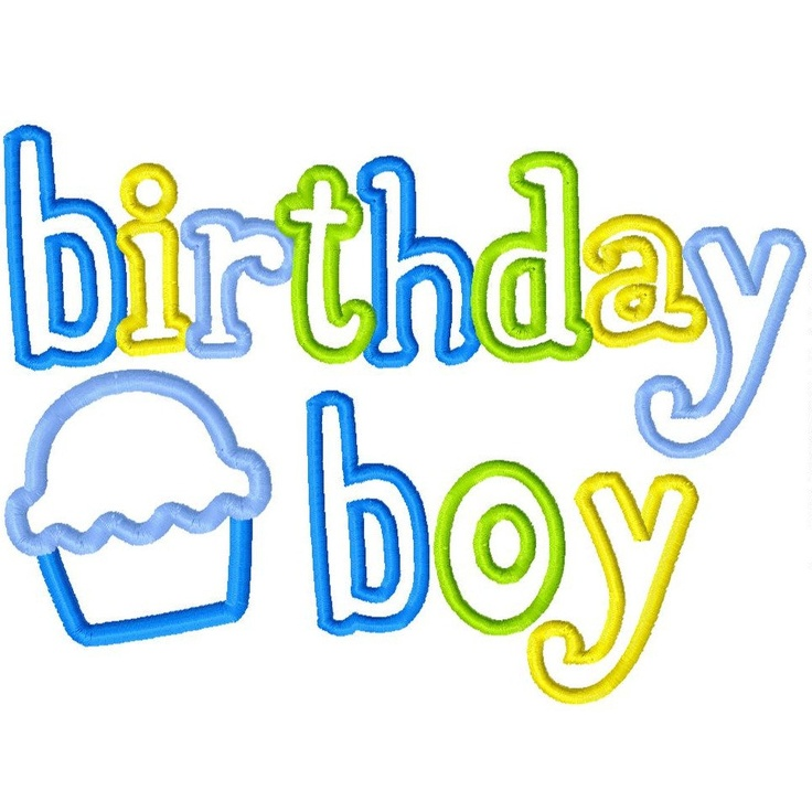 Happy Birthday Baby Boy Quotes: 180 Best Images About Applique & Embroidery On Pinterest