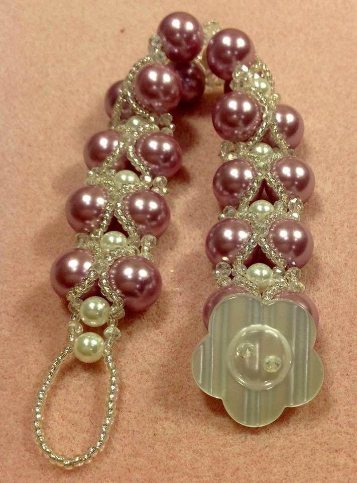 Criss Cross Pearls Bracelet Tutorial