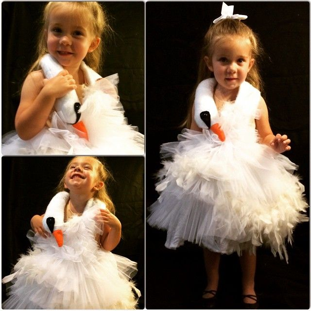 "ADORABLE!! Must make for G. ""A few more of my Bjork Swan dress because it's Oscar night and why not show off your feathers?"" From @ferdalump (Lane on Instagram)"