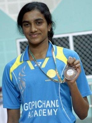 At 18, P.V.Sindhu has deservedly won a position among the top 10 in the Badminton World Federation rankings for women's singles.